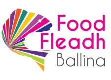 food-fleadh-logo-print-design-mayo-ireland-darkblue-ballina