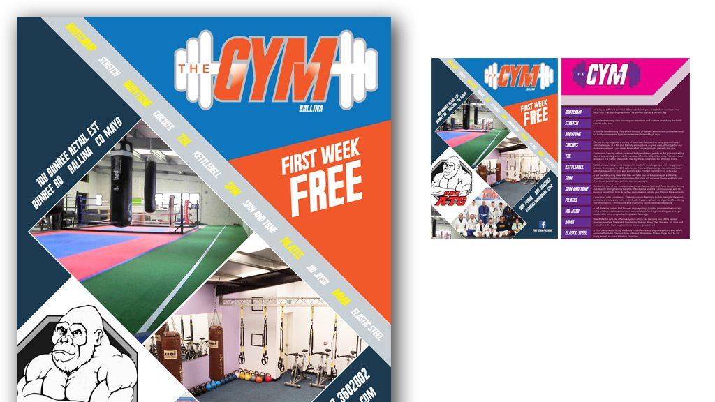 gym-leaflet-print-design-mayo-ireland-darkblue-ballina