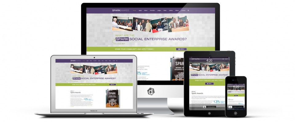 spark-awards-ie-web-design-mayo-ballina-ireland-dark-blue-design