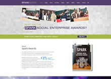 spark-awards-ie-web-design-mayo-ballina-ireland-dark-blue-design-portfolio