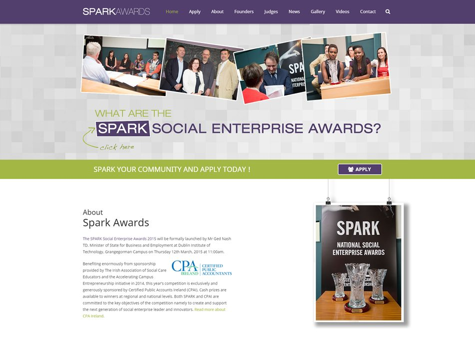 spark-awards-ie-web-design-mayo-ballina-ireland-dark-blue-design-portfolio1