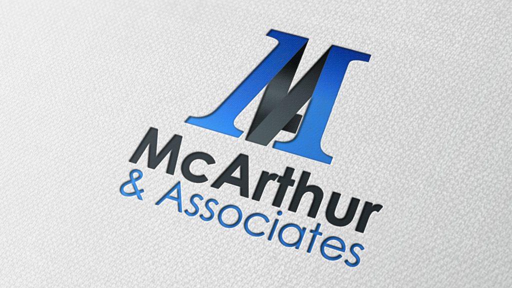 mc-arthur-associates-logo-grapahic-design-darkblue-design-ballina-mayo-ireland