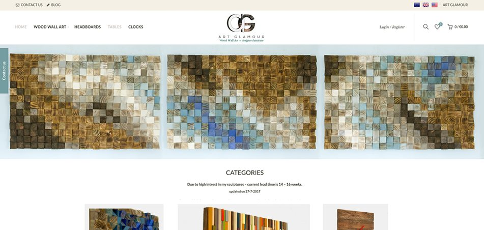 art glamour-web-design-sligo-darkblue-design-1