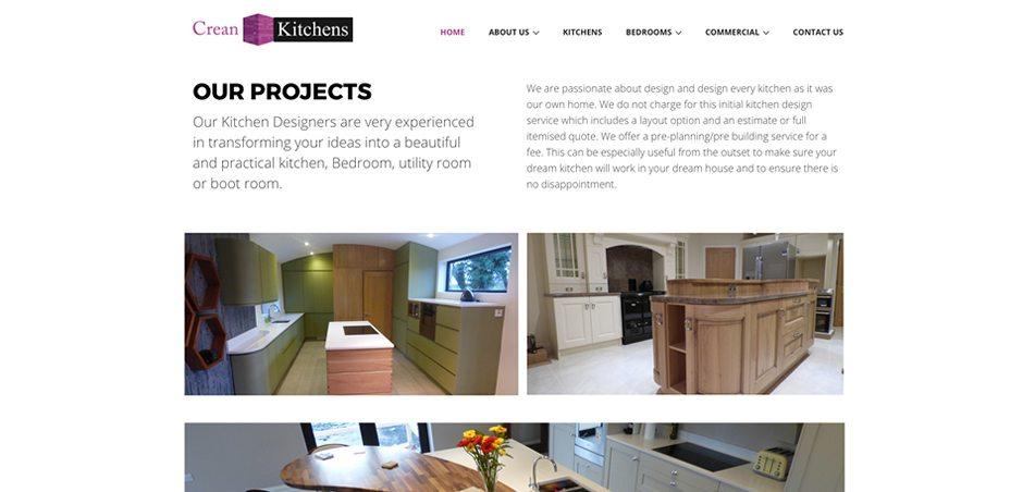 Crean Kitchens   Darkblue Design | Web Design Mayo, Castlebar, Sligo  |Darkblue Design | Web Design Mayo, Castlebar, Sligo |